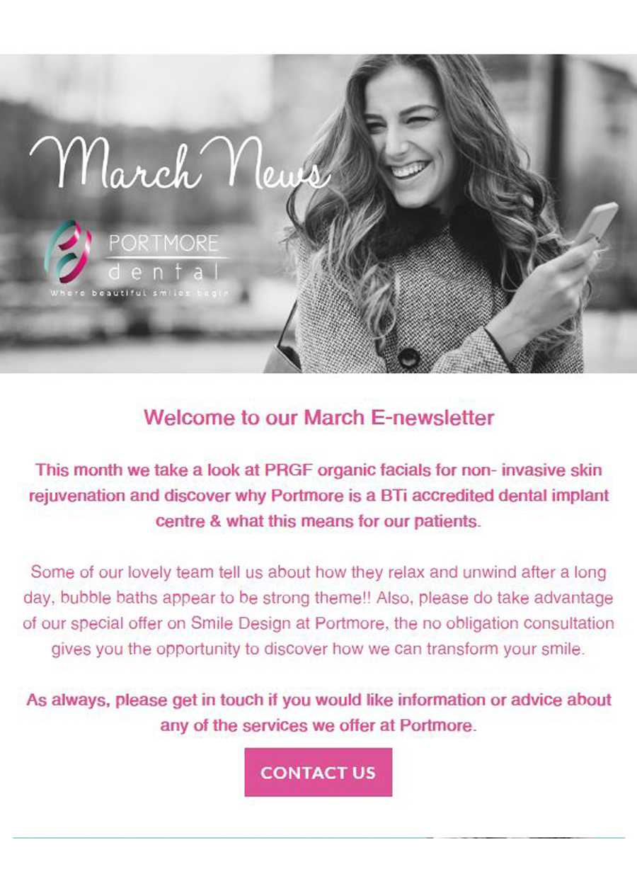 March Email